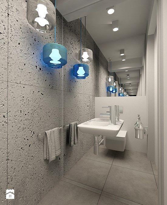 WC w stylu minimalistycznym w apartamencie w Tomaszowie Mazowieckim - zdjęcie od design me too