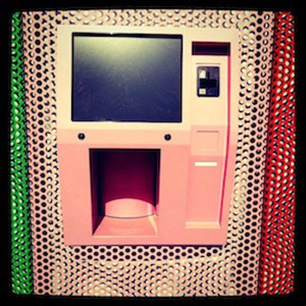 Sprinkles Cupcakes ATM in Beverly Hills