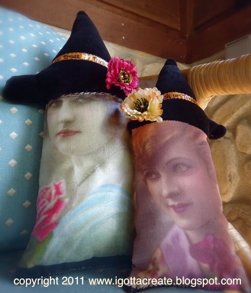Beautifully Bewitching Pillows & Ornaments
