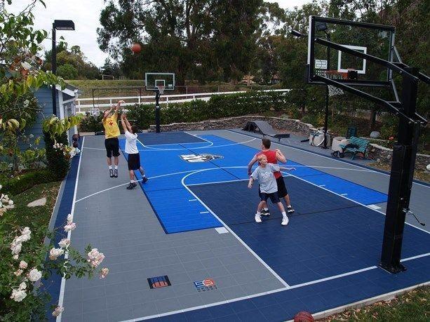 Diy Basketball Court Best Of 60 Best Backyard Courts ...