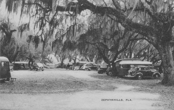 1930  at Zephyr Park-Tin Can tourists