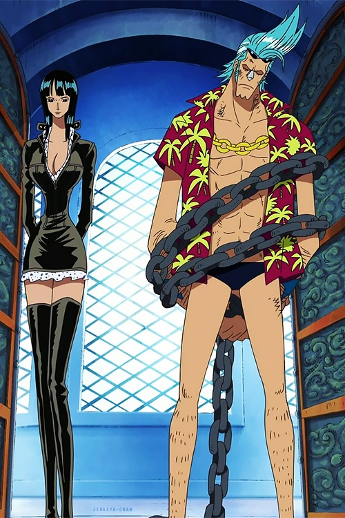 40 best images about franky and robin on pinterest them - Luffy x nico robin ...
