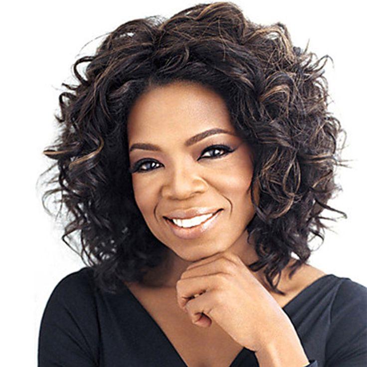 """Hot 12 """"breve Afro Sintetico Parrucca di Capelli Ricci Per African American Black Women Economici Realistici Misti Capelli Sintetici Parrucche di capelli Naturali"""