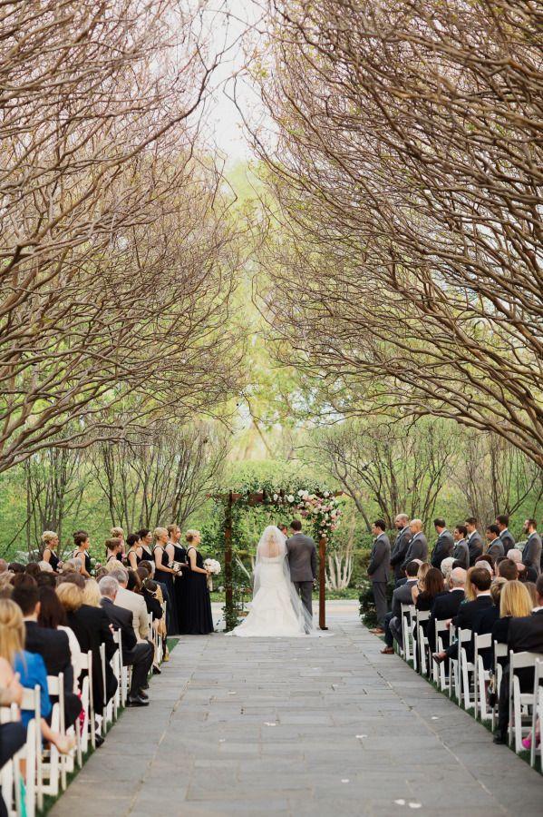 Dreamy Romantic Dallas Garden Wedding In Shades Of Pink