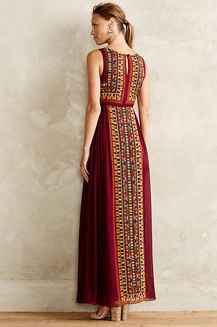 Bajwa Maxi Dress - anthropologie.com