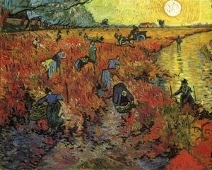 The Red Vineyard  Vincent Van Gogh