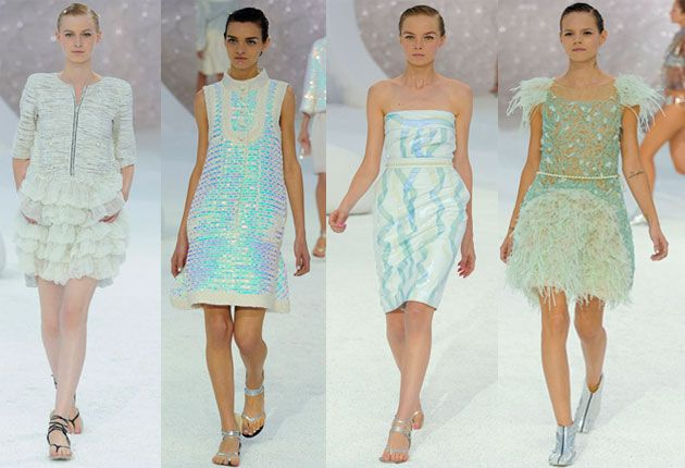 under the sea by Chanel