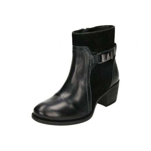 Hush Puppies, Black Boots, Gothic Boots, Ankle Boots, Boots For Women,  Link, Leather Boots, Black Leather, Ladies Footwear