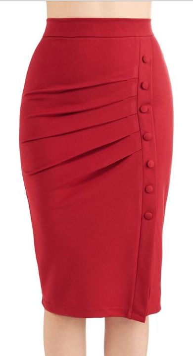 Michele's red pencil skirt  https://www.pinterest.com/BeckySchriner/totally-rockin-it/