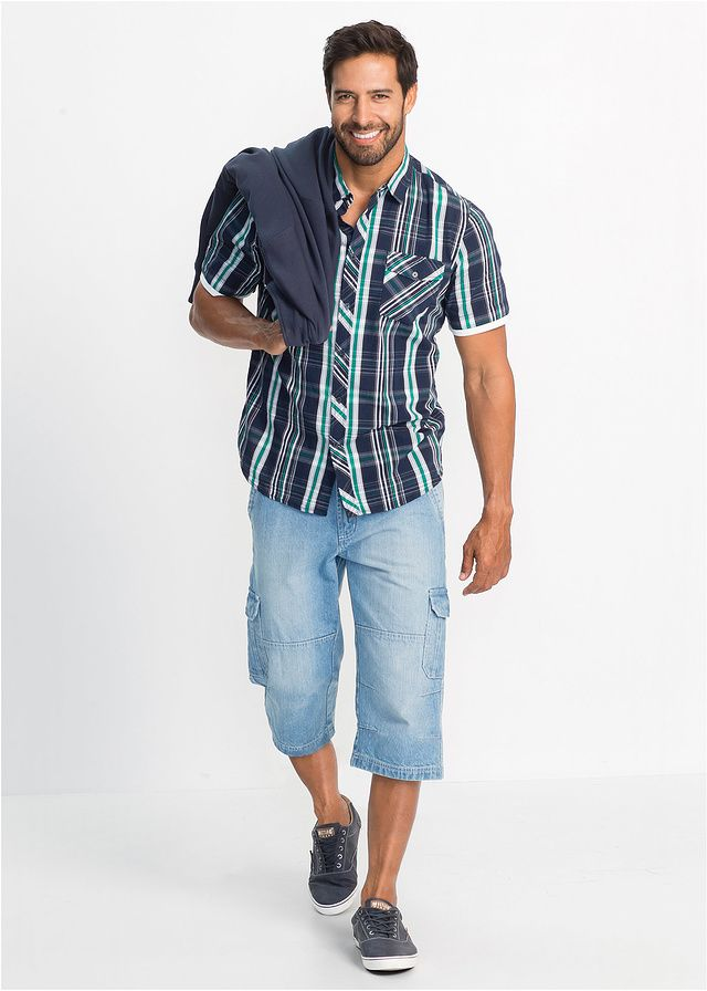Koszula z krótkim rękawem Regular Fit • 74.99 zł • bonprix
