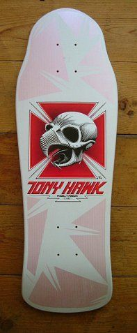 My first skateboard back in the day