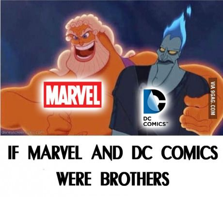 If Marvel and Dc were brothers