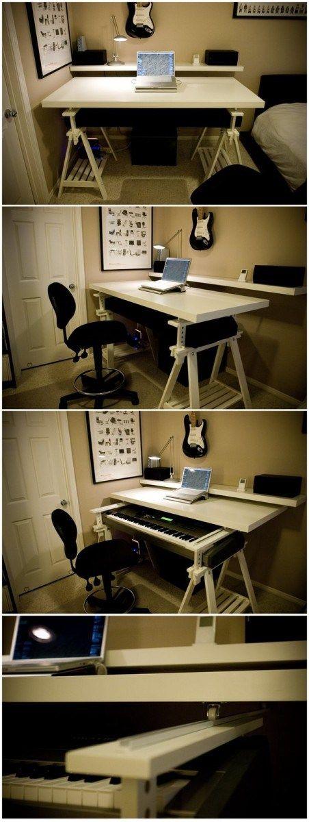 Eine minimalistische Workstation, die Ihr Budget nicht ausschöpft – home decor