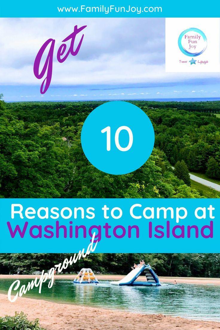 Washington Island Wisconsin 15 Things To Do Family Fun Joy In 2020 Washington Island Washington Island Wisconsin Wisconsin Camping