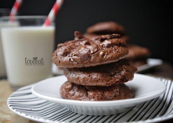 Шоколадно-кокосовое печенье без муки