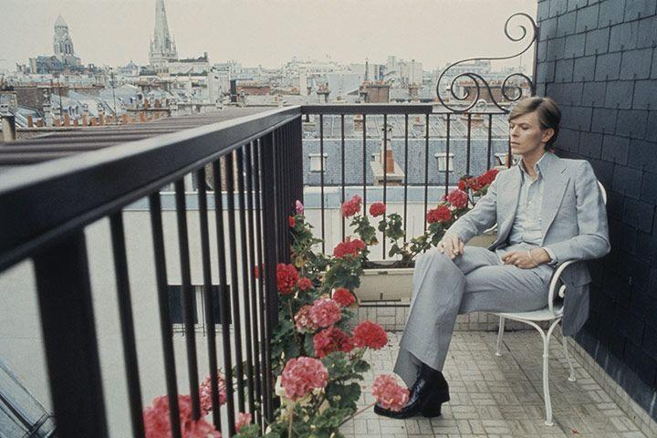 David Bowie in Paris (1977)