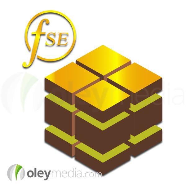 Land Banking Kenya FSE Gold Logo Design  #LogoDesign #Logo #GraphicDesign