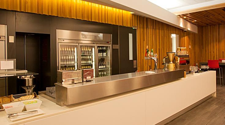 Qantas Club Lounge