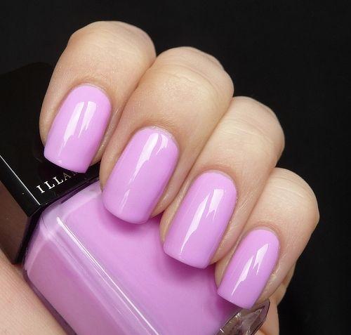 AllYouDesire: Illamasqua Harem. Glowing bright pink purple nail color. #summer nails