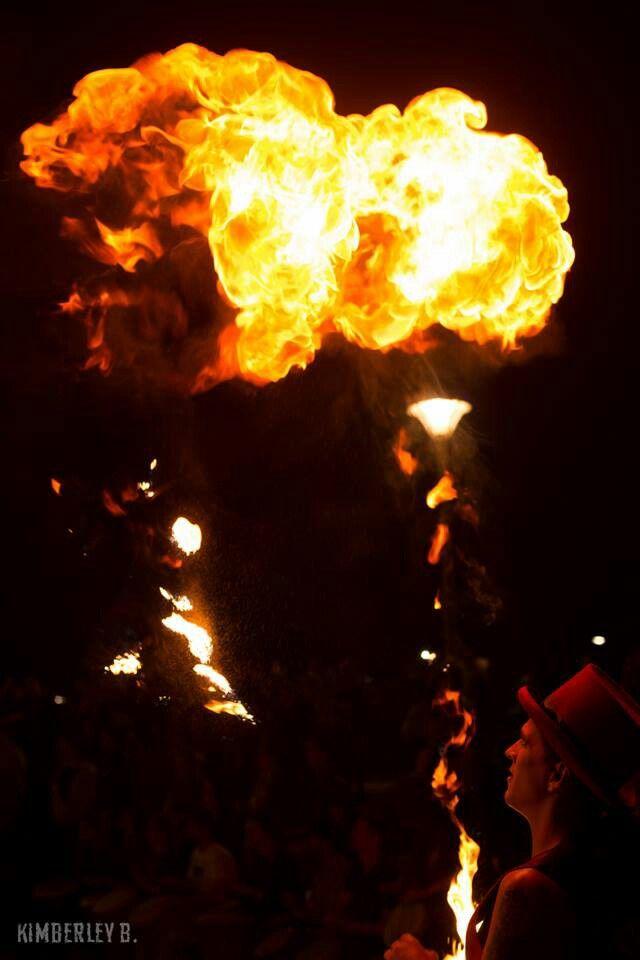 DangerBoy with a huge burn off at Hyde & Seek.