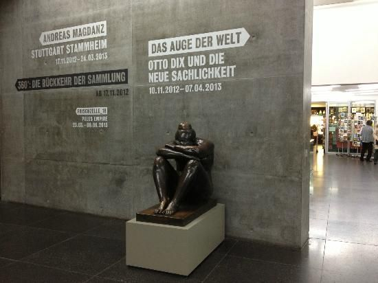 The Kunstmuseum Stuttgart is a contemporary and modern art museum