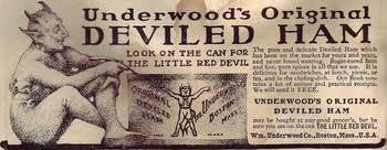 Image result for vintage underwood deviled ham ads photos