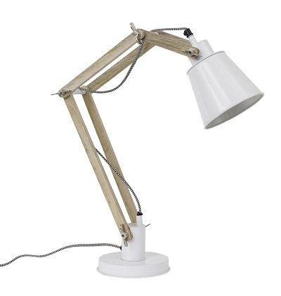 Lamp Retro Wit via www.toefwonen.nl/c-2236856/lampen/
