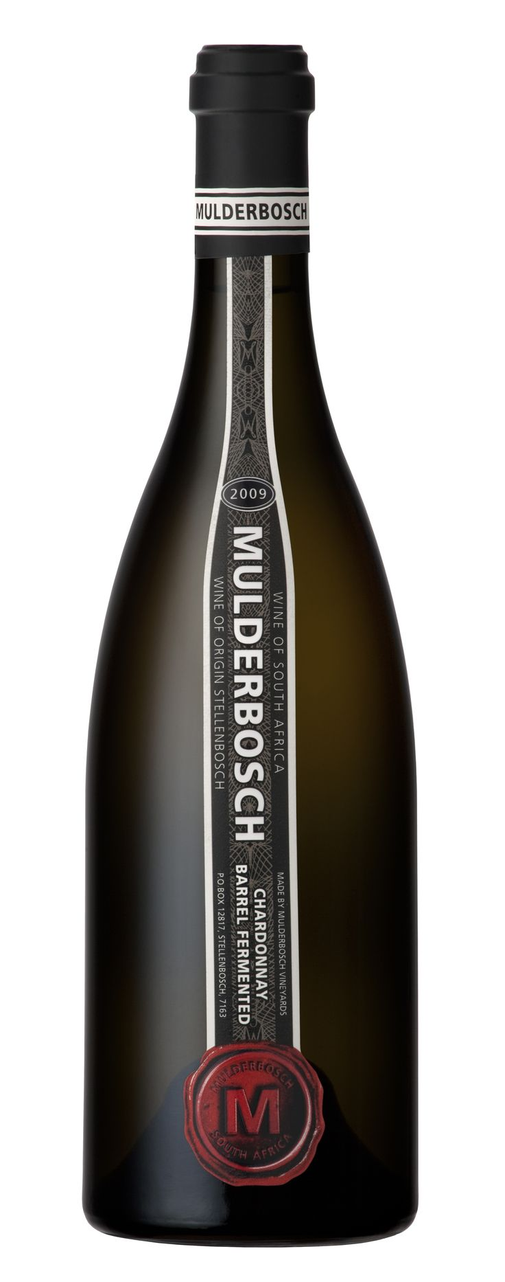 2009 Mulderbosch Barrel Fermented Chardonnay scores 84 points and 5 stars in value. #wine #SouthAfrica