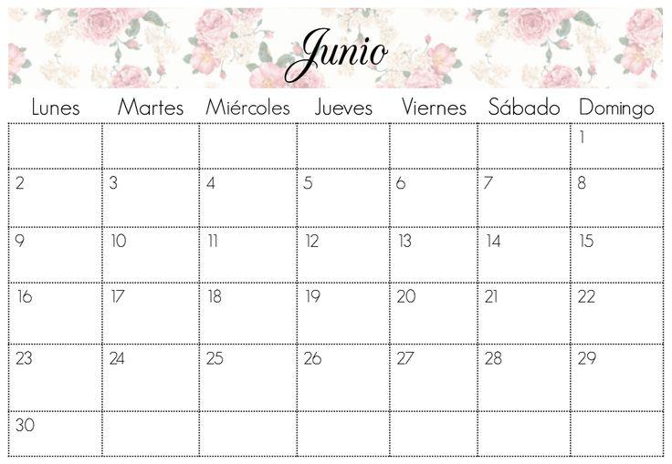 Calendario Junio 2014 | Imprimibles