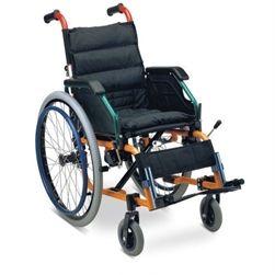 Wollex W980 Alüminyum Tekerlekli Sandalye                            (W980)