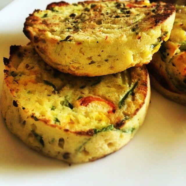 Breakfast Muffins, grain free