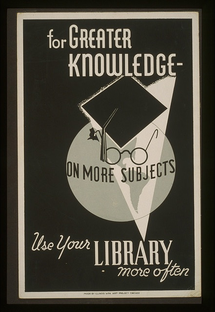 Use Your Library! (We could use more propaganda of this sort these days...)
