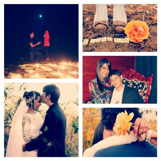 Proposal-Engagement-Wedding Day ♥