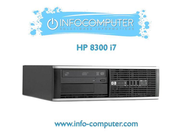 Sábado de OFERTA en #Infocomputer. Hoy te traemos este #HP 8300 i7 con un ¡¡DESCUENTO de 45 euros!!  ⭕ Procesador: Intel Core i7 3770 3400MHz (3era Generación). ⭕ Disco Duro: 500 GB SATA. ⭕ Memoria RAM: 4 GB DDR3.  ✅ PRECIO: 298,64 euros (ANTES 343,64 euros). ✅ FINÁNCIALO por 54,77 euros al mes. ✅ 3 AÑOS DE GARANTÍA. ✅ PORTES GRATIS.  ➡️ CÓMPRALO AQUÍ  #ordenadoressegundamando #ordenadores #ofertas #offers #ordenador #computer #computers