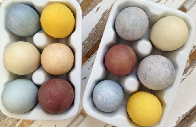 do it yourself :: natural easter egg dyes