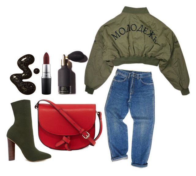 """""""Untitled #15"""" by christi81 on Polyvore featuring Wrangler, Steve Madden, KC Jagger and MAC Cosmetics"""