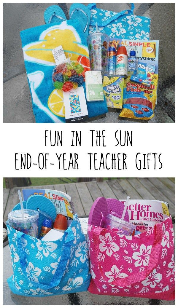 End of Year Teacher Gifts | Sun, Everything and Great gifts