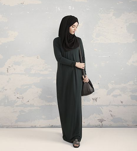 emerald everyday shirt abaya