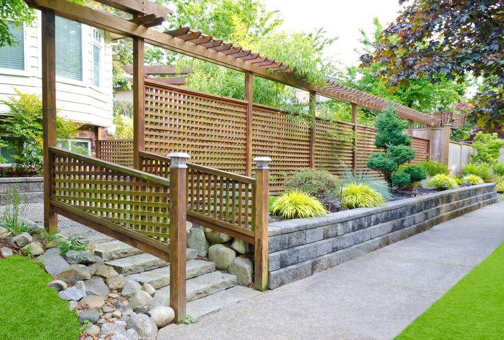 Деревянный забор для дачи: красивые идеи