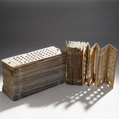 Punched Cards for Analytical Engine