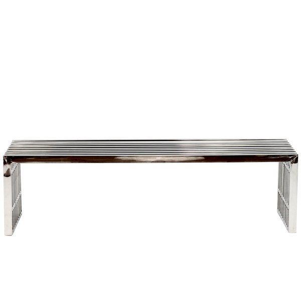 Gunnar Stainless Steel Bench Stainless Steel Bench Steel Bench Metal Bench
