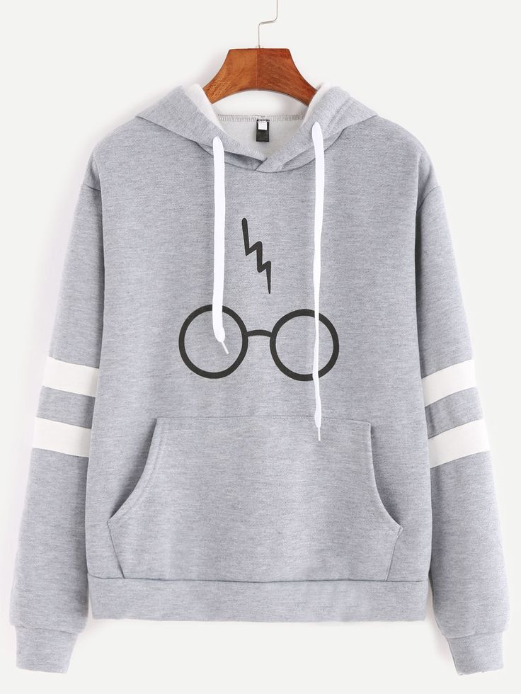 Harry Potter Glasses Hoodie - free shipping worldwide