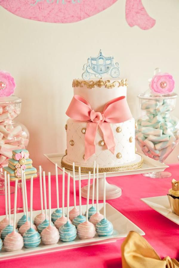 Cinderella Princess Party via @Kara Morehouse's Party Ideas .com