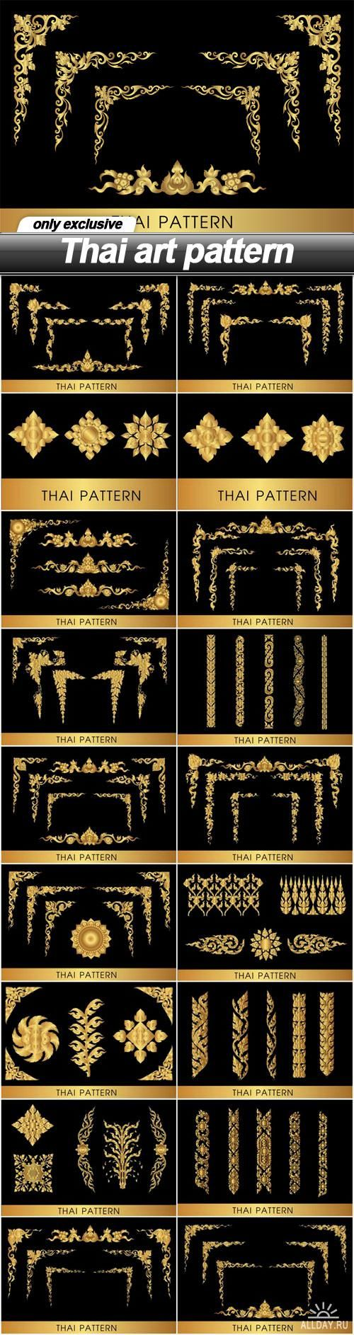 Thai art pattern - 19 EPS