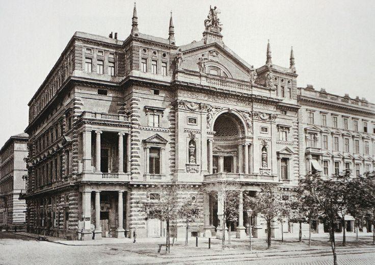 Vienna, Ringtheater - Schottenring 7., 1881