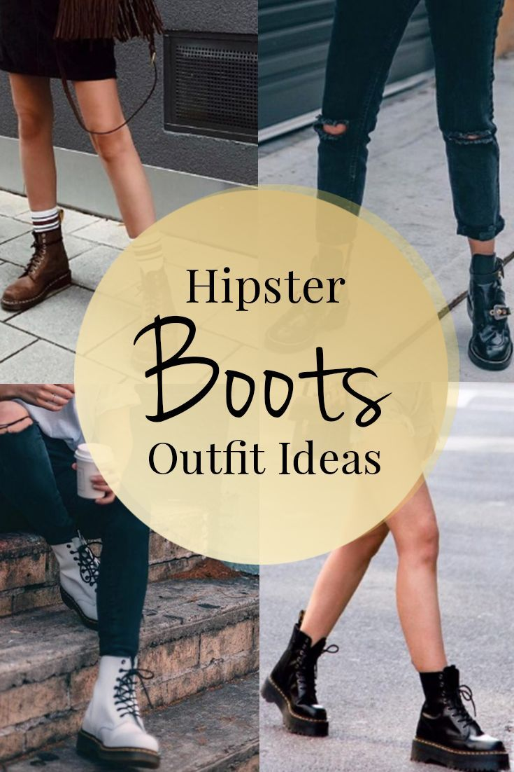 Looking for hipster outfit ideas? – This hand-picked list covers the best boots matching with outfits for 2018, including jeans, striped pants, oversize shirt and more.