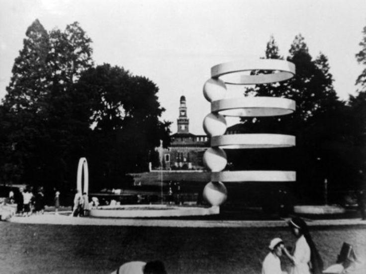 Cesare Cattaneo e Mario Radice, La Fontana al Parco Sempione di Milano, VI Triennale, 1936 (ACC Cernobbio)