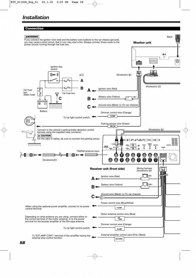 12 Kenwood Wiring Diagram In 2021 Kenwood Diagram Electrical Wiring Diagram