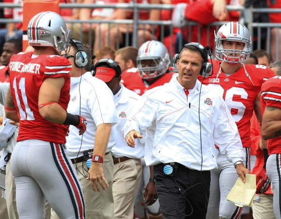 Given the way Ohio State is recruiting, Urban Meyer's Buckeyes pose the biggest threat to the SEC's current dominance, writes the Orlando Sentinel.