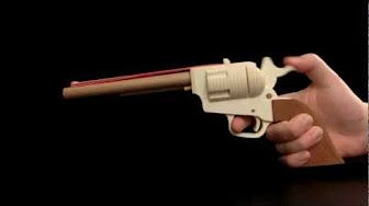 Single Action Army Revolver rubber band gun